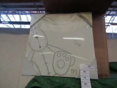 4x Millie - Hand painted canvas art - New & Packaged.
