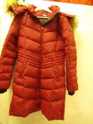 1 x Heritage 63 Pajar Canada Ladies Red Padded Coat size S RRP £120 on ebay (no tag)