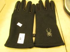 1 x pair of Spider Mens Gloves no packaging