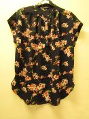 1 x Hilary Radley Kimono Style Blouse with Cuff Sleeve size XL no tag see image for design