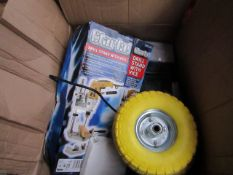 1 BOX OF VARIOUS TOOLS This lot is a Machine Mart product which is raw and completely unchecked and
