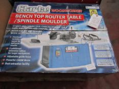 1 CL ROUT /SHARPER CBTSR 8 B102 This lot is a Machine Mart product which is raw and completely