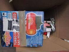 1x BOX OF VARIOUS TOOLS 3 NCE This lot is a Machine Mart product which is raw and completely