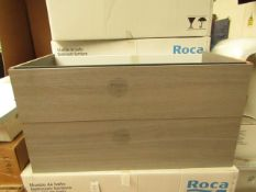 Roca Beyond vanity unit 1000mm, new and boxed. RRP with basin £1500