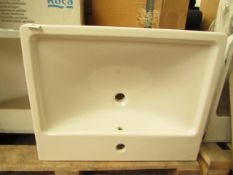 Vitra Lavabo 60cm 1TH basin, new and boxed.