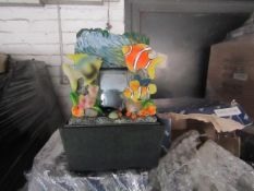 A Pallet of approx 150 Various themed water features, look unused