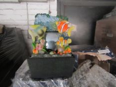 A Pallet of approx 288 Bird themed small water features, look unused.