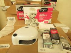 2 x ROKIT - Professional Gel Polish Kit - (Please Note These Sets Are Not Complete & May Be Missing