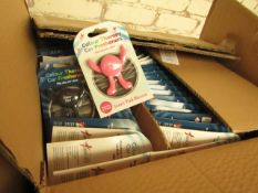 Box of approx 64 Colour Therapy Car Fresheners - New & Packaged
