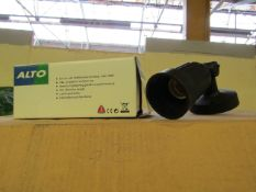 4 x Alto - Outdoor IP44 Wall Spot Light Suitable for Highligthing  Garden, Patio, etc adjustable &