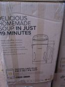 | 10X | DREW AND COLE SOUP CHEF | BOXED AND UNCHECKED | NO ONLINE RESALE | SKU C5060541516809 |