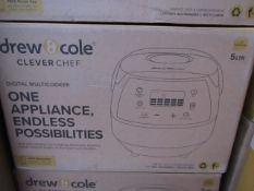 | 6X | DREW & COLE CLEVERCHEF | UNCHECKED AND BOXED | NO ONLINE RE-SALE | SKU C5060541511682 |