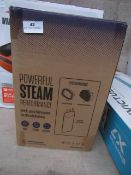 | 1X | VERTI STEAM PRO | UNCHECKED AND BOXED | NO ONLINE RESALE | RRP £43.99 | TOTAL LOT RRP£43.