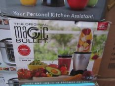 | 8X | THE MAGIC BULLET BLENDER | UNCHECKED AND BOXED | NO ONLINE RESALE | SKU C5060191467360 |