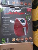 | 5X | POWER AIR FRYER 3.2L | UNCHECKED AND BOXED | NO ONLINE RE-SALE | SKU 5060191468053 | RRP £