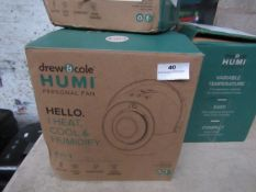| 4X | DREW AND COLE HUMI PERSONAL FAN 4 IN 1 | UNCHECKED AND BOXED | NO ONLINE RESALE | SKU - | RRP