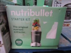 | 6X | NUTRI BULLET 600W | UNCHECKED AND BOXED | NO ONLINE RE-SALE | SKU - | RRP £59.99 | TOTAL