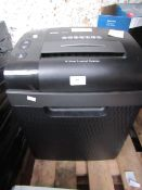 Royal 16MX 16 sheet cross cut shredder, powers on but not tested all functions.