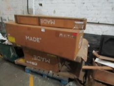 | 1X | PALLET OF FAULTY / MISSING PARTS / DAMAGED MADE.COM STOCK | ALL NEED REPAIR |please note all