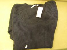 Capsule Ladies Navy Jumper Size S New With Tags