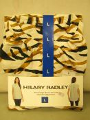 Hilary Radley Ladies Blouse Size L New & Packaged