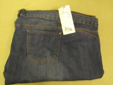 """Slim Straight Jean Size 28 With 32"""" Leg New & Packaged"""