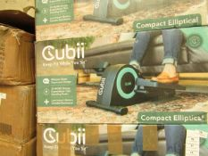 |1x | CUBII UNDER DESK ELLITICAL WORK OUT | NO ONLINE RESALE | UNCHECKED & BOXED | SKU F3A2-203-0316