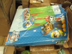 Paw Patrol - Table & Chair Set - Box looks Open at bottom (Pieces May be Missing) - Unchecked &