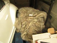 Dreamland - Fur Faux Heated Blanket - Untested & Unpackaged.
