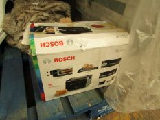 Bosch - Styline 2 Slice Toaster (Black) - Used Condition & Boxed.