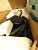 |1x | SLIM CYCLE STATIONARY BIKE FOLDING INDOOR EXERCISE BIKE WITH ARM RESISTANCE BANDS | NO
