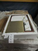 | 1X | SWOON CADREW WALL LAMP IN WALNUT | LOOKS UNUSED (NO GUARANTEE) | RRP CIRCA œ114.99 |