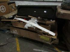 | 1X | PALLET OF FAULTY / MISSING PARTS / DAMAGED MADE.COM STOCK | ALL NEED REPAIR | please note all