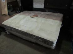 2x Swoon King Size mattresses, extremely dirty from being stored and dropped in a dirty warehouse