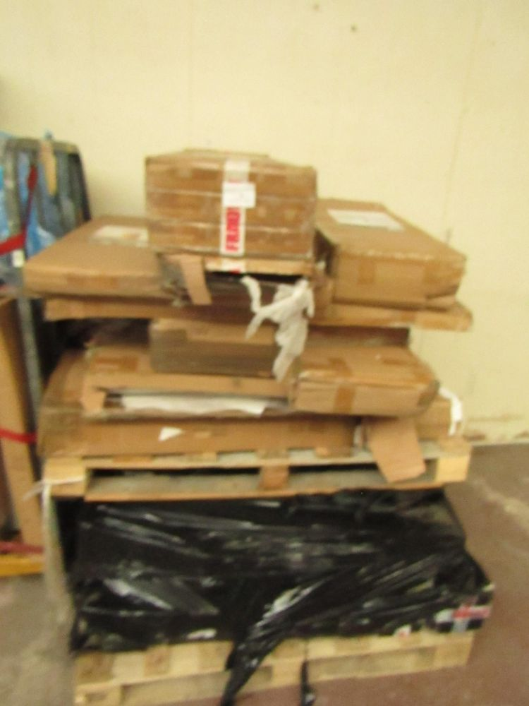 6ft Tall Pallets of raw online Retail customer returns