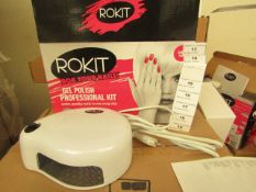 2 x ROKIT - Professional Gel Polish Kit - (Please Note These Sets Are Not Complete & May Be