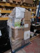 | 1X | PALLET CONTAINING APPROX 25 - 35X VARIOUS HOUSEHOLD ELECTRICALS (MAY CONTAIN YAWN AIR BEDS) |