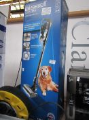 Bissell Icon 25v cordless vacuum, tested working but floor brush head has a snapped pipe and