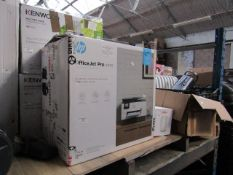 HP OfficeJet Pro 9025 multi-purpose printer, powers on but not tested all functions and boxed.