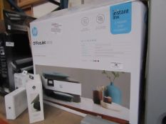 HP OfficeJet 8015 multi-purpose printer, powers on but not tested all functions and boxed.
