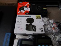 Vehicle Blackbox DVR full HD 1080, unchecked and boxed.