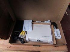 John Lewis broadband set, new and boxed.