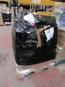 | 1X | PALLET CONTAINING APPROX 10 - 20X VARIOUS HOUSEHOLD ELECTRICALS (MAY CONTAIN YAWN AIR BEDS) |