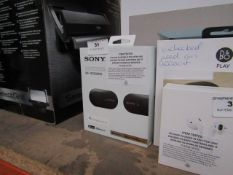 Sony WF-1000MX3 ear buds, tested working (charge untested) and boxed. RRP £179.99