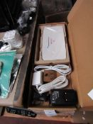4x Sagecom Plus Net One Self install pack, unchecked and boxed.