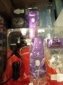 2x Emjoi Seal - Wet & Dry Shaver - Packaging Damaged.