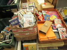 Pallet Containing Approx 100+ Books & Approx 50+ CD/DVD'S - Great Value - Used Condition.