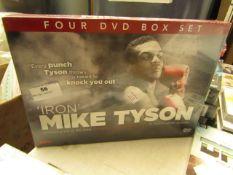 Iron' Mike Tyson - 4 DVD Box Set - Unused & Sealed.