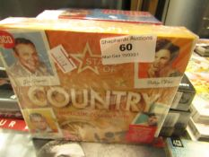 Stars Of Country - 60 Classic Country Hits 3 CDS Set - Unused & Sealed.