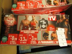 | 1x | GYM FORM TOTAL ABS SPORT | UNCHECKED & BOXED | SKU - | RRP £ - |